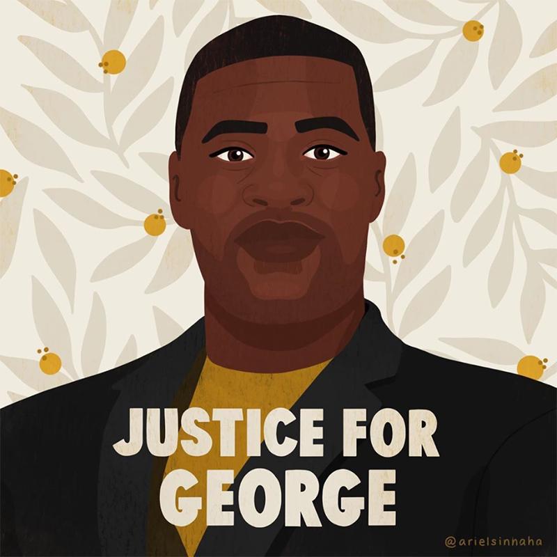 George Floyd. Murdered. Period.