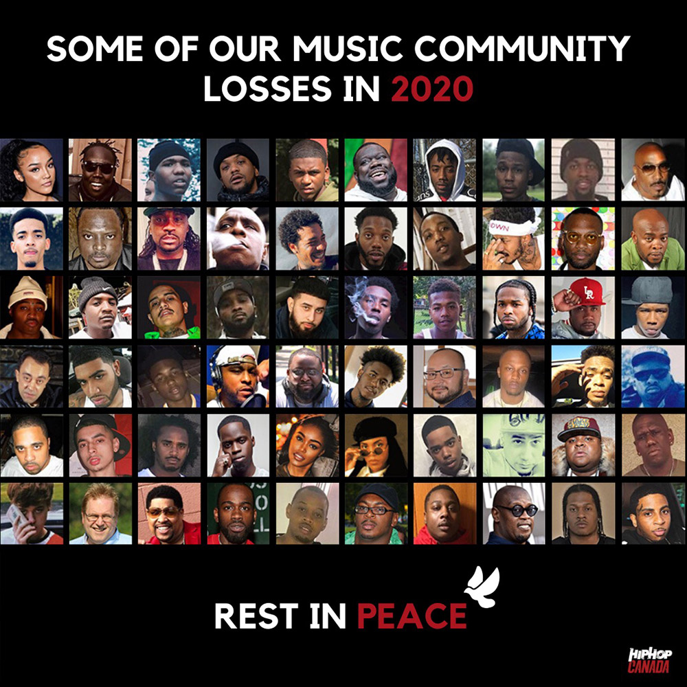 Some of our music community losses in 2020