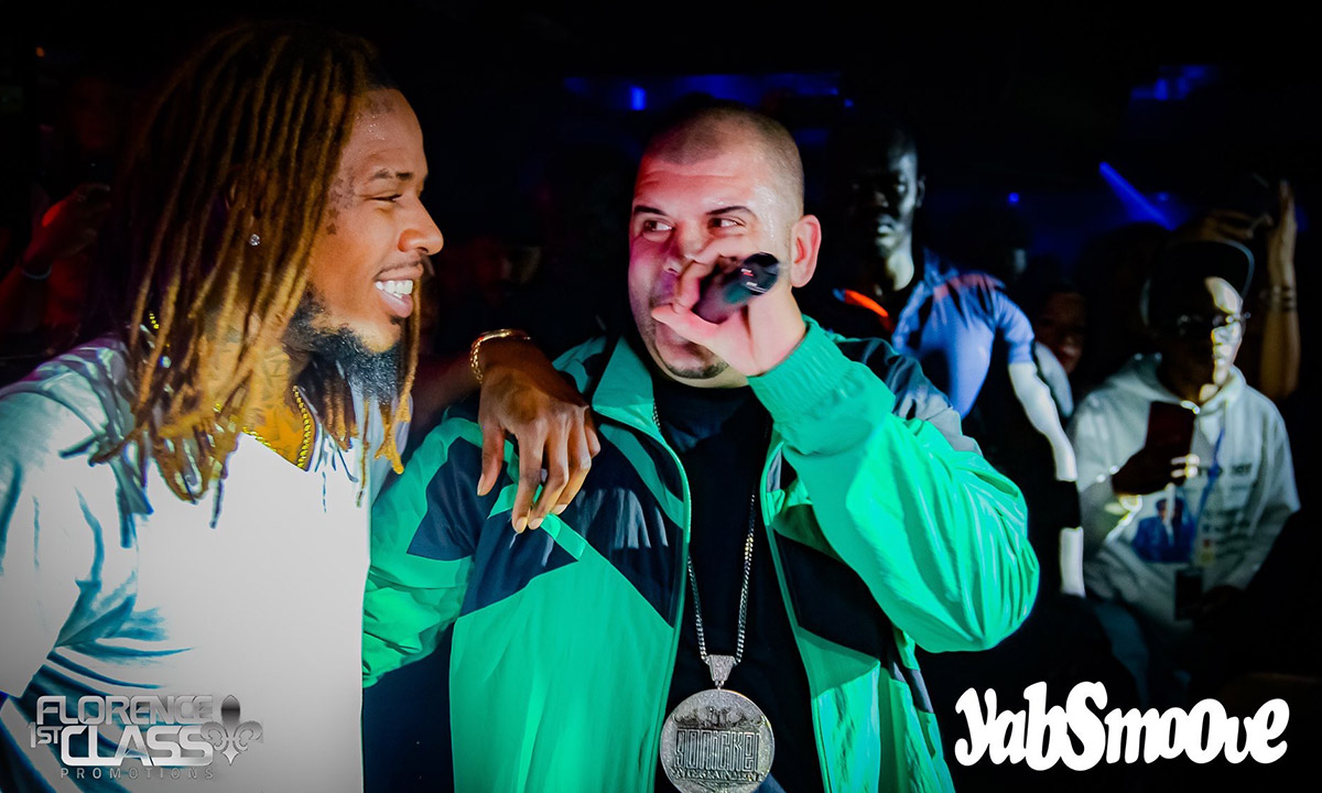 Fetty Wap and Peter Jackson performing