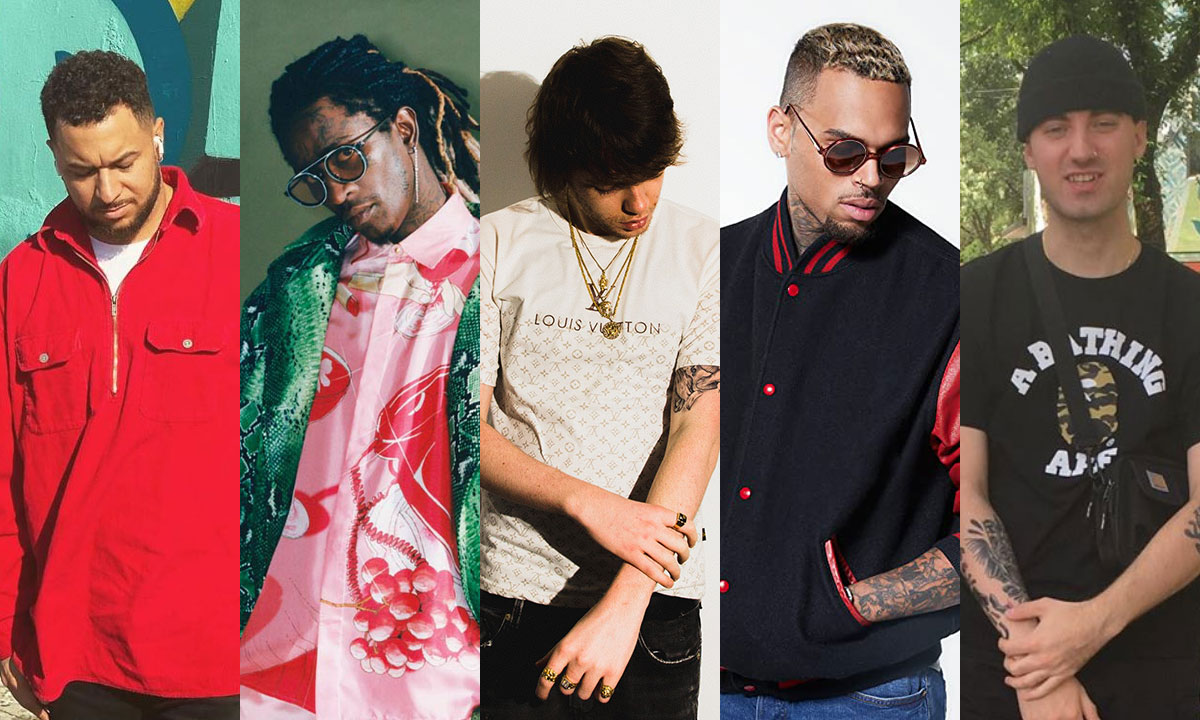 T-Minus, Young Thug, Murda Beatz, Chris Brown and Joseph L Etranger