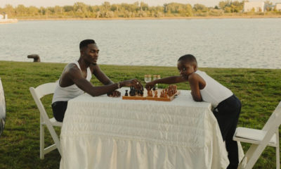 TOBi plays chess with his younger self