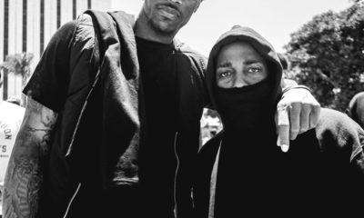 Alright: Kendrick Lamar joins Compton Peace Walk with DeMar DeRozan and Russell Westbrook