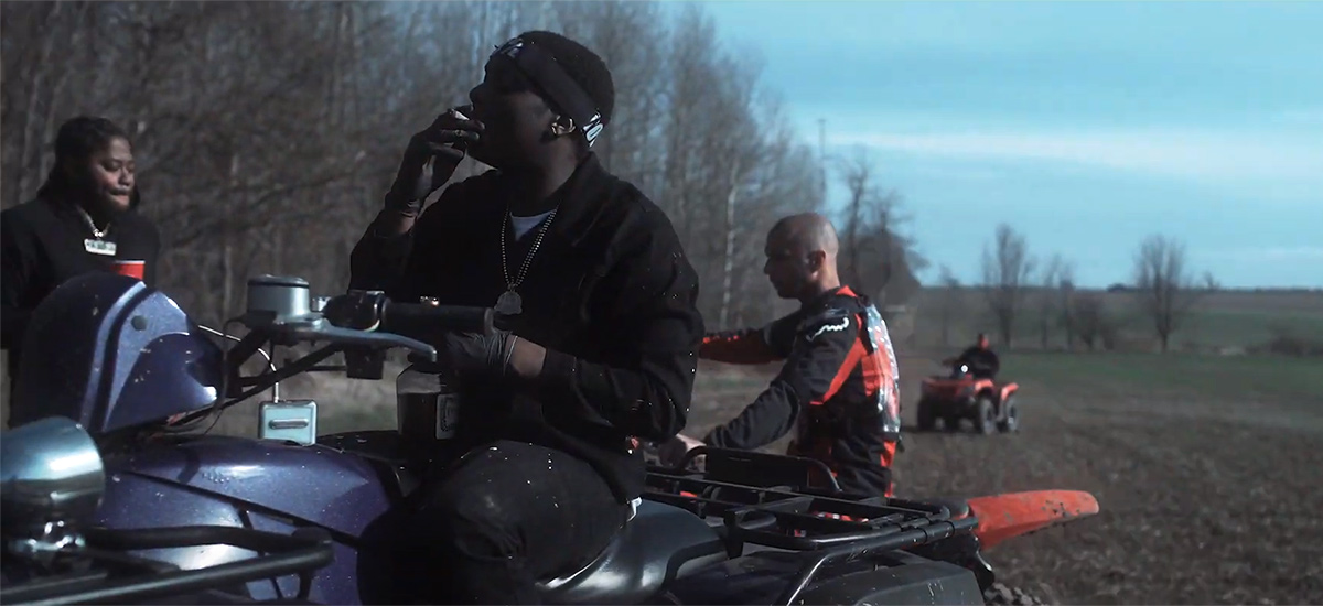 Scene from the Loyalty video