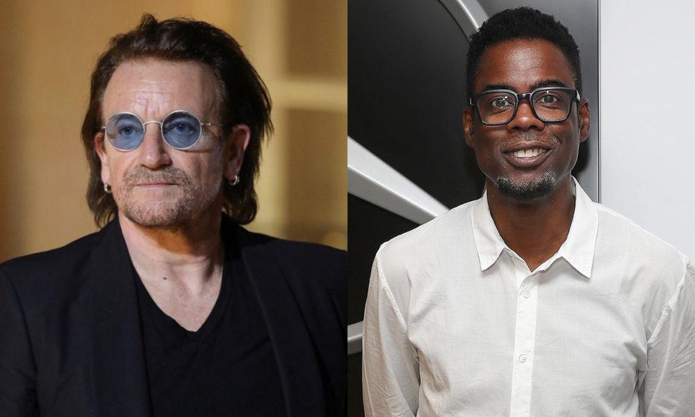 Bono and Chris Rock