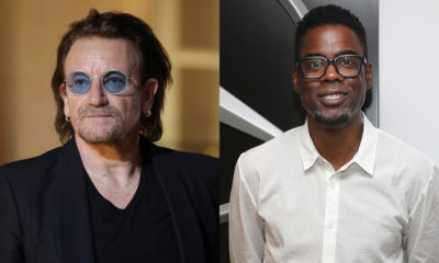 Bono and Chris Rock