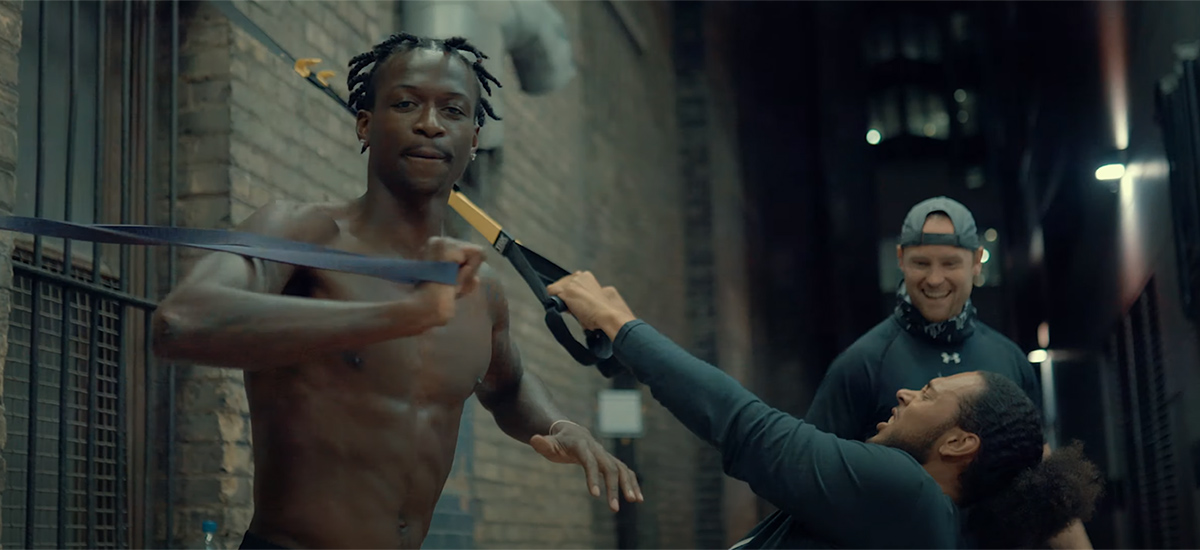 Scene from the Stay Focused video