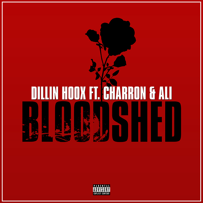 Dillin Hoox enlists Charron and Ali for Bloodshed single
