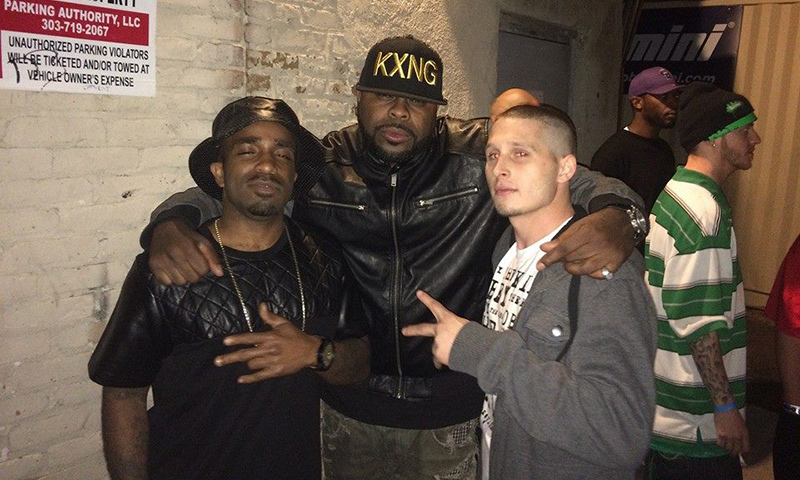 Glace Conway, KXNG Crooked and RX