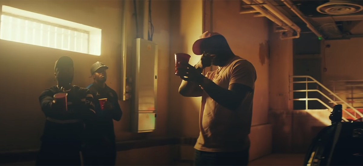 Scene from the Only You Freestyle video