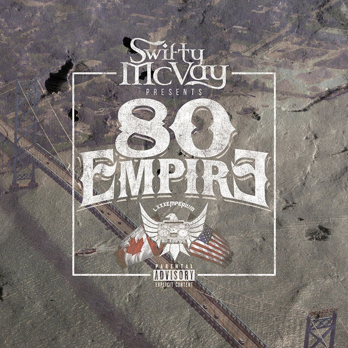 Swifty McVay and Canadian duo 80 Empire team up for new album