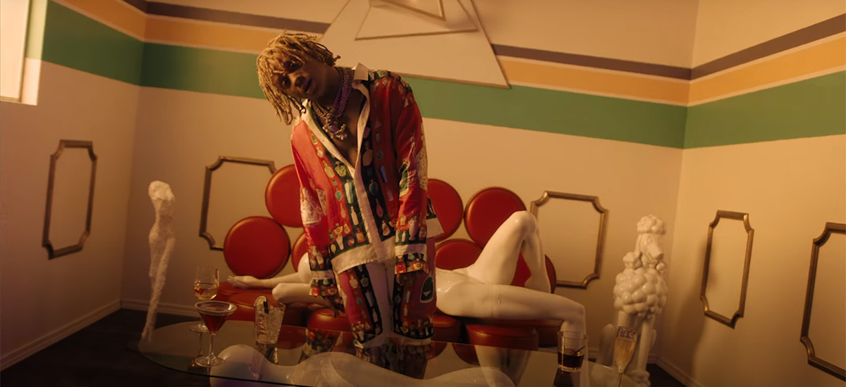 Scene from the Excitement video