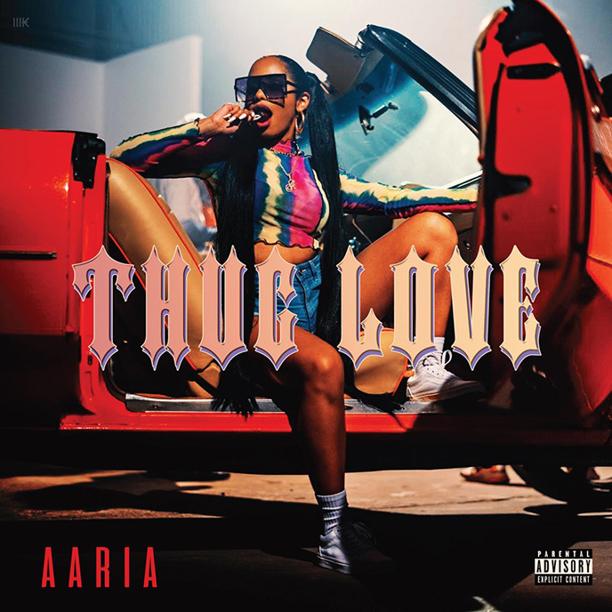 R&B singer Aaria enlists Trouble for Thug Love single and video