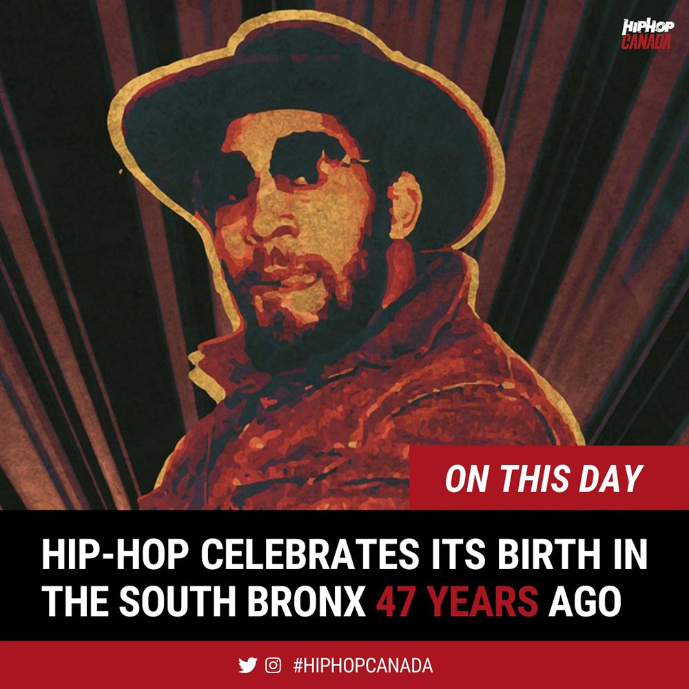 Hip-hop celebrates its birth in the South Bronx 47 years ago today