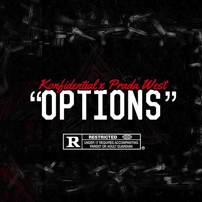 Artwork for Options by Konfidential and Prada West