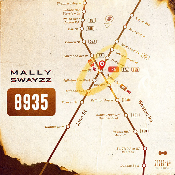 Mally Swayzz releases new 11-track project 8935