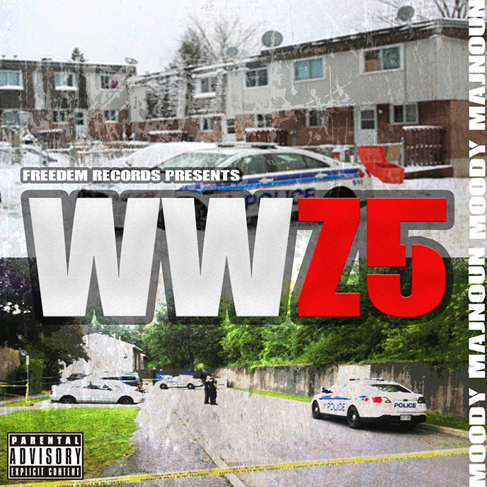 Moody Majnoun releases new 4-track project WWZ5