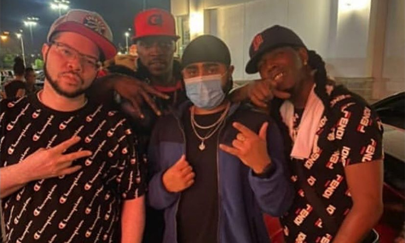 KinSmuv, Risky G, AkOnTheBeat, and Droops Holiday