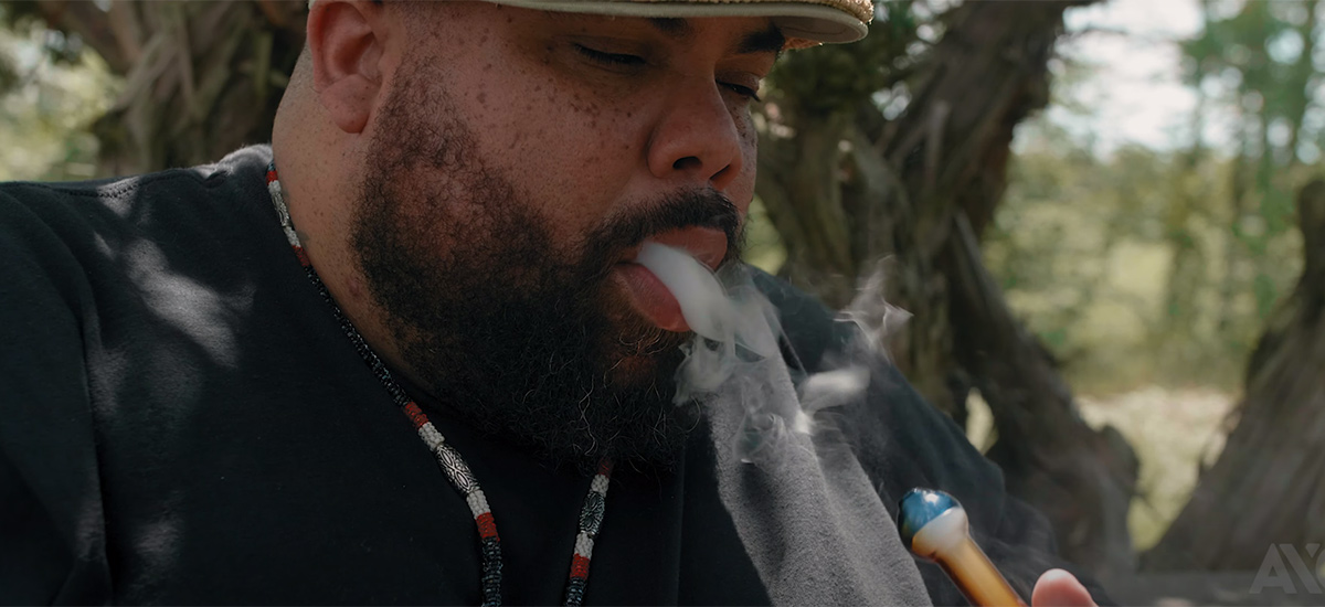Scene from the Undone video