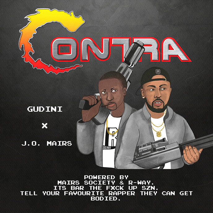 Mississauga artists Gudini and J.O. Mairs team up for Contra EP