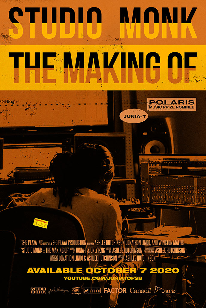 Poster for Studio Monk: The Making Of