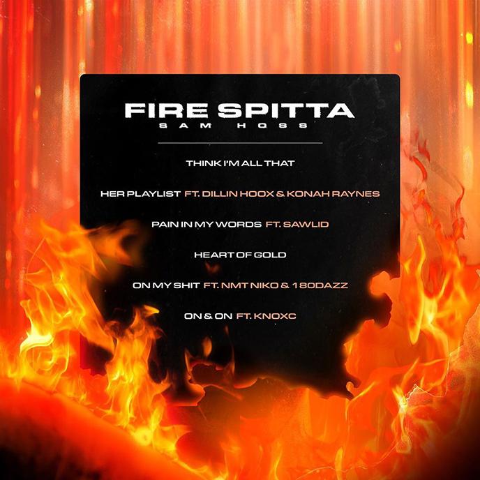 Ottawa rapper Sam Hoss releases EP debut Fire Spitta