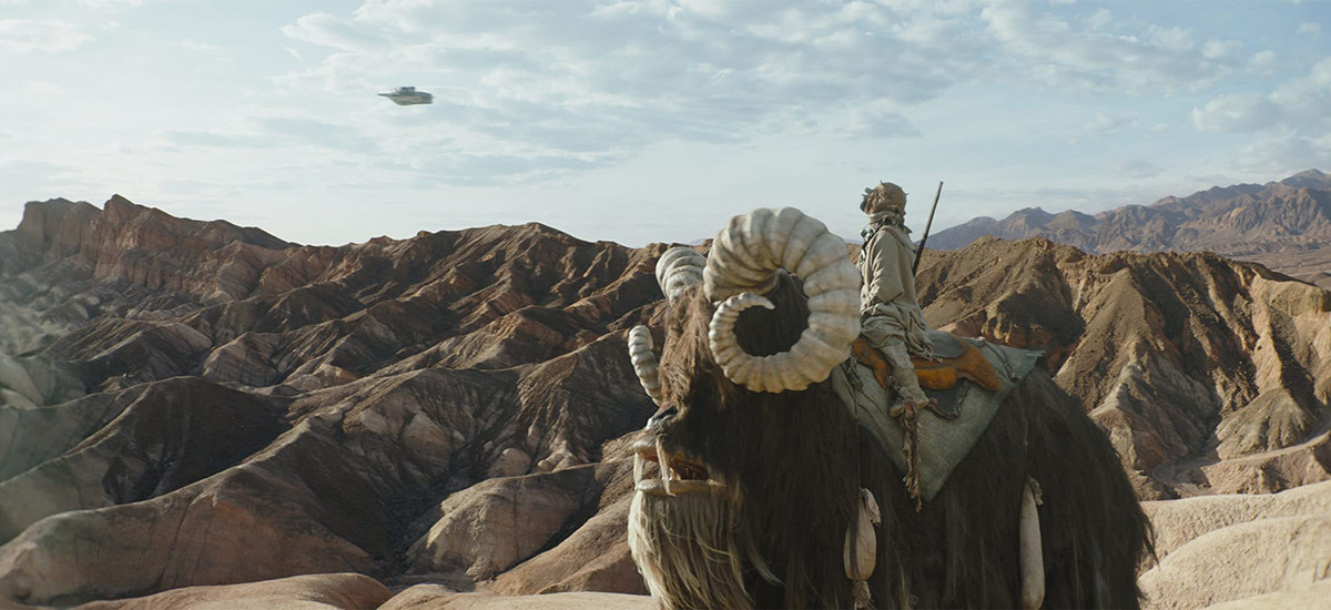 Scene from The Mandalorian Chapter 2