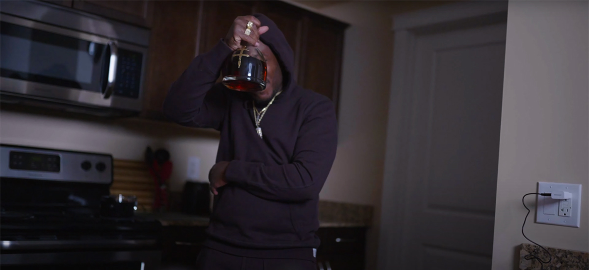 Scene from the Pullin me Back video