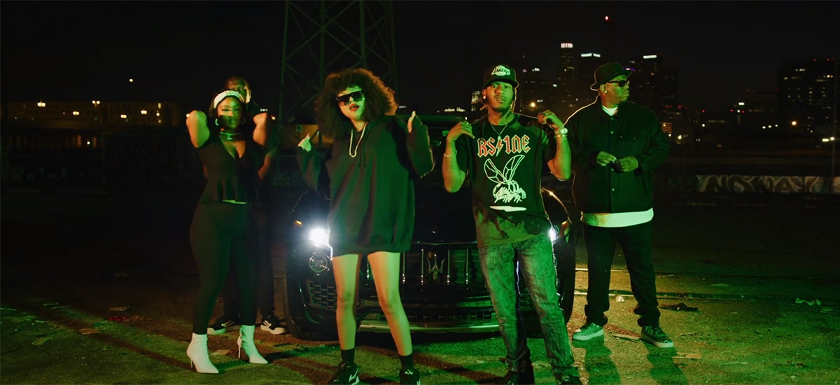 Scene from the Soft Flex video by Ruthless