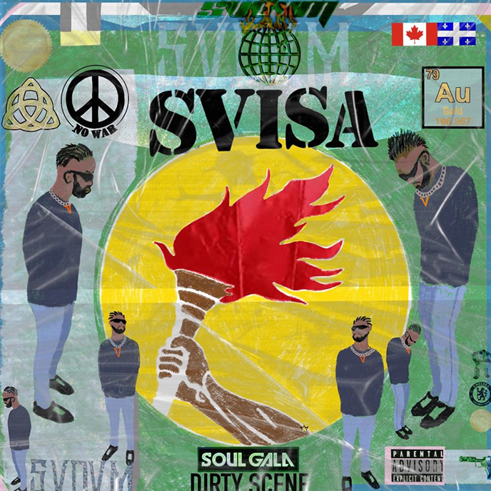 Ottawa artist SVDVM returns with 11-track project SVISA