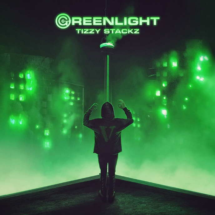 Artwork for Green Light by Tizzy Stackz