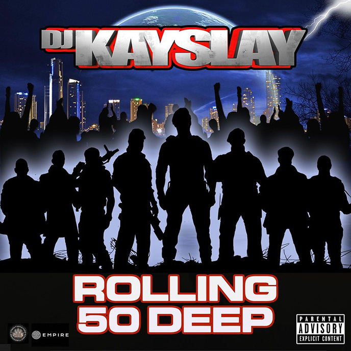 Artwork for Rolling 50 Deep by DJ Kay Slay