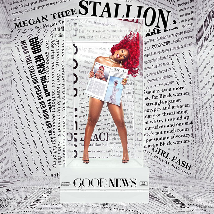 Artwork for Good News by Megan Thee Stallion