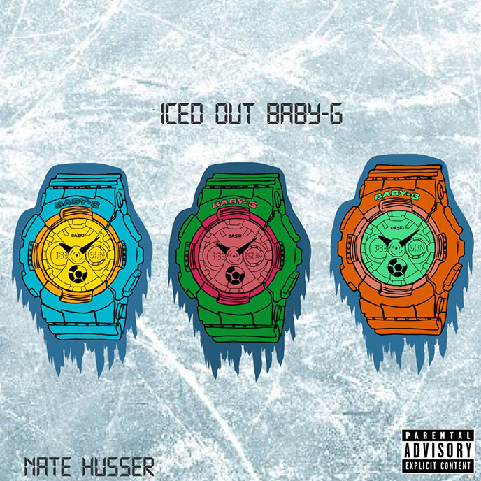 Artwork for Iced Out Baby-G by Nate Husser