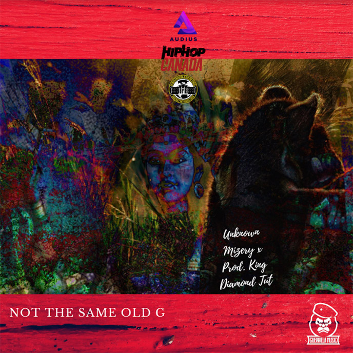 Artwork for Not the Same Old G by Unknown Mizery