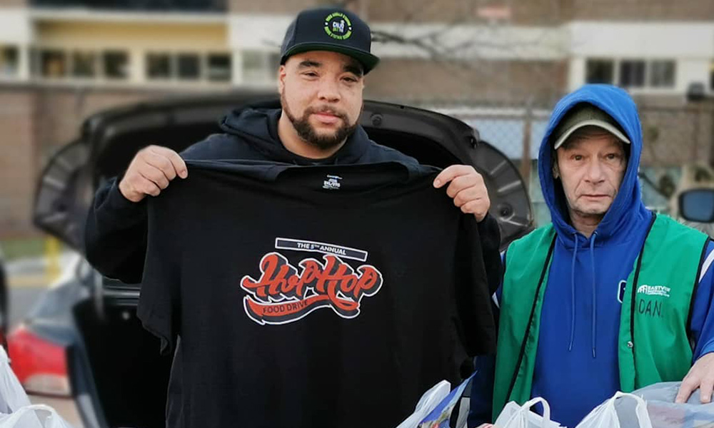 6th annual Hip Hop Food Drive to broadcast from 6 Canadian cities between Dec. 15-20