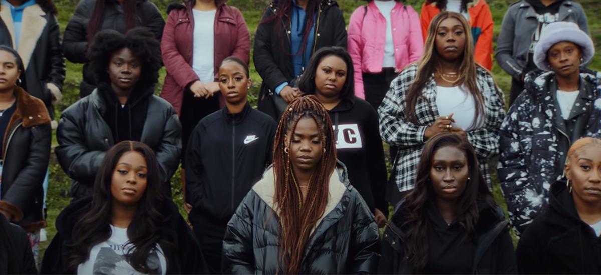 Scene from the Peng Black Girls video
