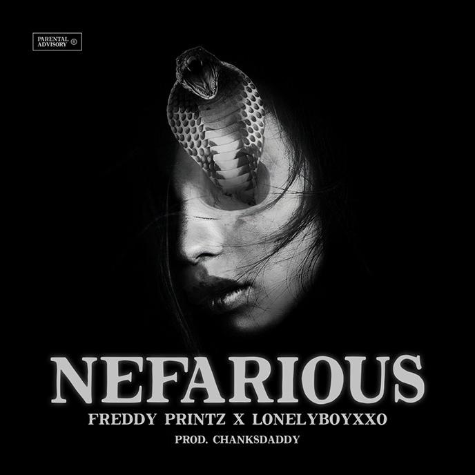 Artwork for Nefarious by Freddy Printz