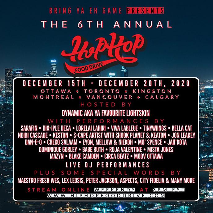 6th annual Hip Hop Food Drive