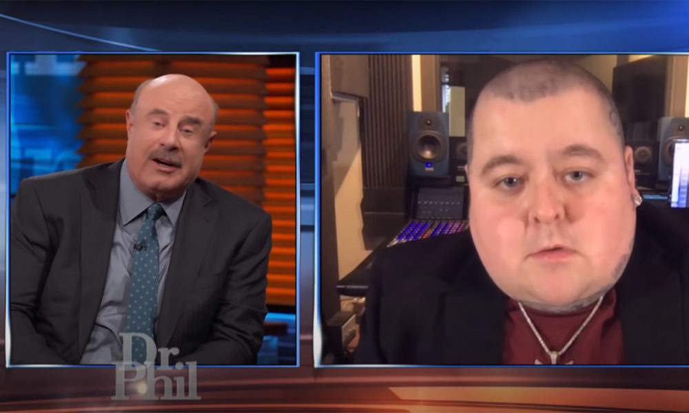Merkules on the Dr. Phil talk show
