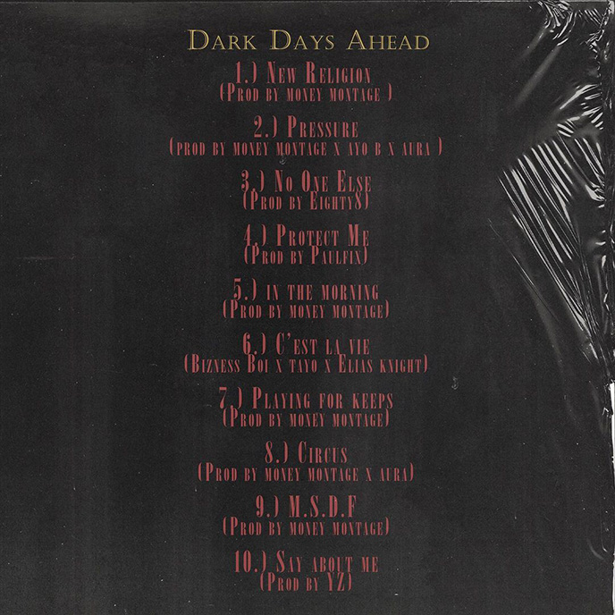 Artwork for Dark Days Ahead