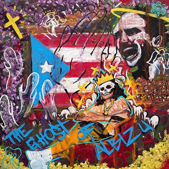 Artwork for The Ghost of Albizu by UFO Fev