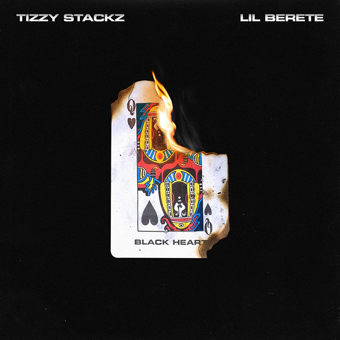 Artwork for Black Heart by Tizzy Stackz and Lil Berete